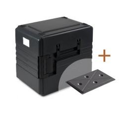 CombiDeal: Thermoport 1000K + koelplateau zwart