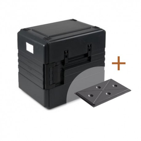 CombiDeal: Thermoport 1000K + koelplateau zwart