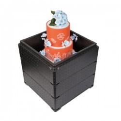 Cakebox 35 x 35 cm compleet