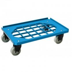Dollie mover gitter | nylon wiel | blauw