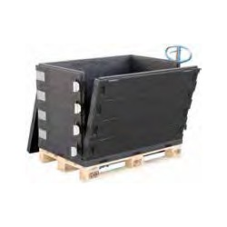 Thermo Pallet Box Bodem
