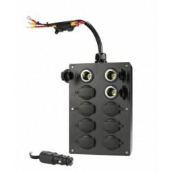 Stekkerdoos 10x 12V voor HotPad