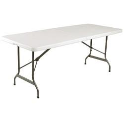 Inklapbare Tafel, wit, 183 cm
