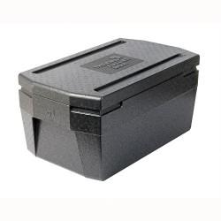 Cateringbox 1/1 GN DeLuxe 26 cm zwart