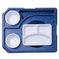 Diner box +2 voor rechthoekig schaal (met servies)