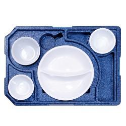 Diner box +3 tbv rond bord (met servies)