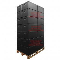 28 x cateringbox 1/1 GN - 25 cm