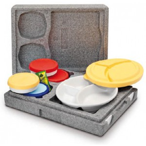 Dinnermax porselein voor menuboxen