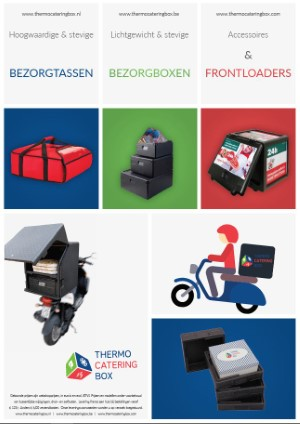 Thermocateringbox Bezorgboxen & tassen